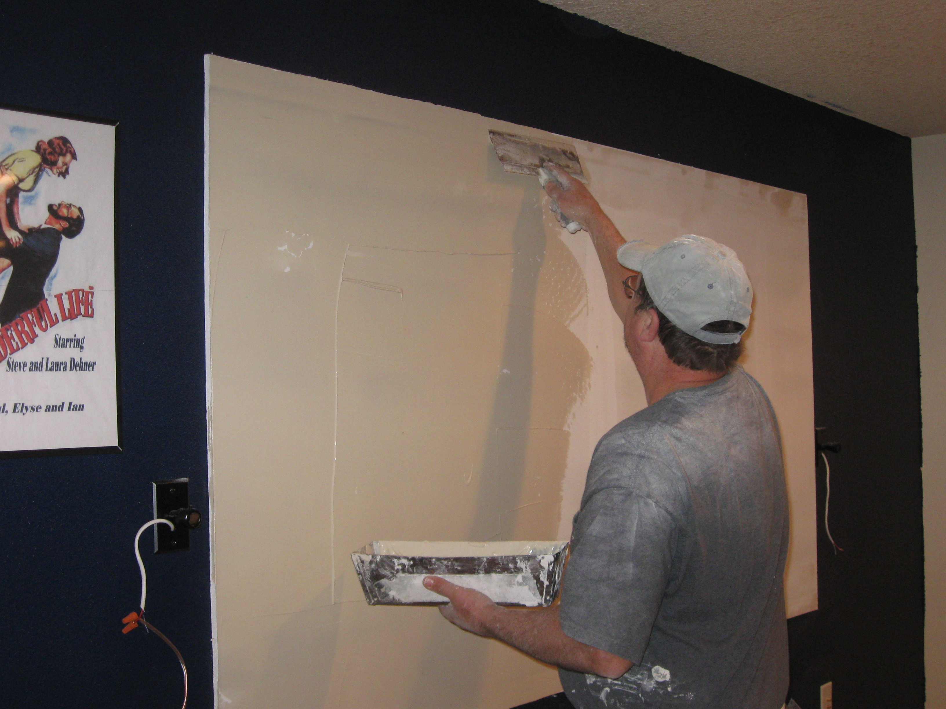 Projection Wall Paint Interactive Idea Using And A Carltonbalecom Home Theater My Theatre Part Four Room Installation The Free Range