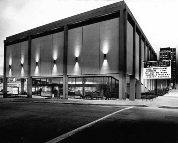 The Way We Were: the King when it opened in 1974.