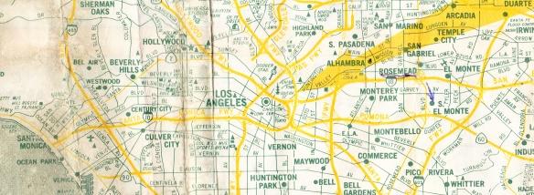 LA Map 1982