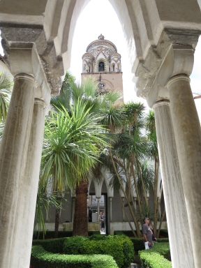 Courtyard of Cathedral of St. Andrew, Amalfi.
