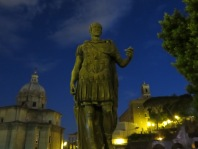 The Forum at night. Augustus Caesar.