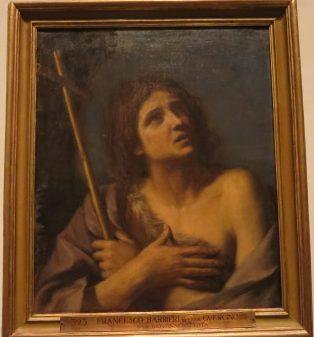 """Il Guercino, """"S. Giovanni Battista."""""""