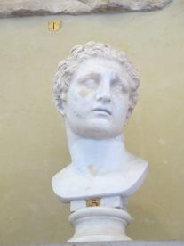 Statuette of Asklepios, God of Medicine, 3rd Cent. Roman Copy.