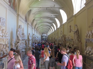 Hall of Statuary, The Vatican Museum.
