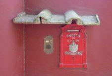 Mailbox along the Via Appia.