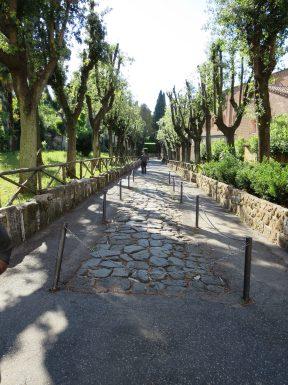 The Avenue, Tre Fontane Abbey.
