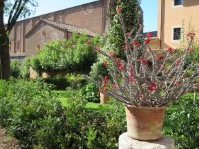 Santi Vincenzo e Anastasio, Tre Fontane Abbey.
