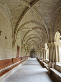 The Monastery of Poblet.