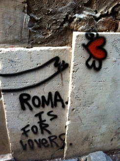 Rome is for lovers