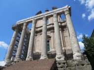 Temple of Antoninus & Faustina.