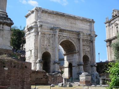 Arch of Septimius Severus.