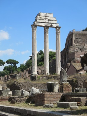 The Temple of Castor and Pollux.