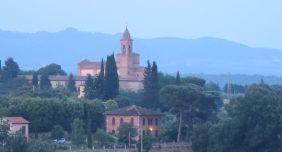 Evening in Siena.