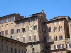 View from Campo Piazza, Siena.