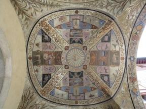 Decorated vault, Siena.