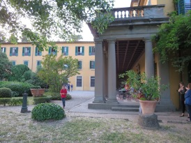 Our hostel in Florence.