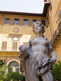Florence: Courtyard, Palazzo Medici Riccardo.