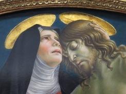 """Florence: Galleria degli Uffizi. Sanseverino, """"Lamentation over the Body of Christ."""""""