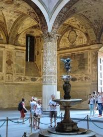 Florence: Palazzo Vecchio.