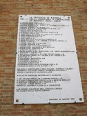 Ravenna: Memorial to Jews who died fighting and resisting the fascists in WW2.