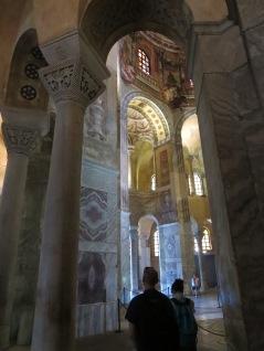 Ravenna: Basilica di San Vitale.