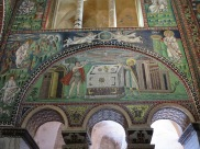 Ravenna: Basilica di San Vitale. Scenes and people from the Hebrew Bible.
