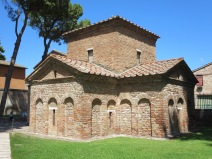 Ravenna: The Mausoleum of Galla Placidia.