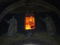 Ravenna: The Mausoleum of Galla Placidia.
