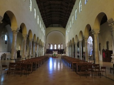 Ravenna: Basilica di San Francesco. Franciscan simplicity.