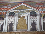 Ravenna: Basilica di Sant'Apollinare Nuovo. The Palace of Theodoric.