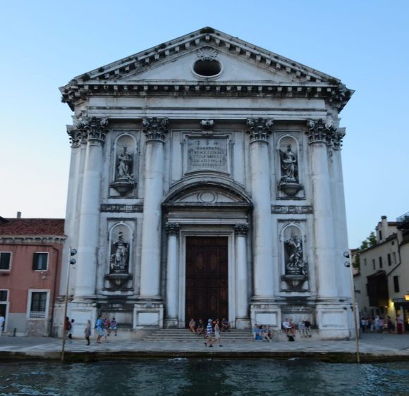 Venice: Santa Maria del Rosario, commonly known as I Gesuati, in Zattere.