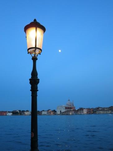 Venice. View from Zattere to San Giorgio.