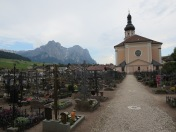 Castelrotto. A cemetery.