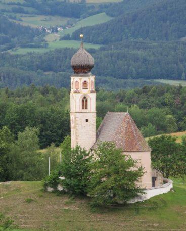 Church of San Valentino (St. Valentin), Alpe di Siusi (Seiser Alm).