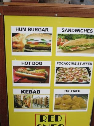 I am tempted by a Burgar & The Fried.