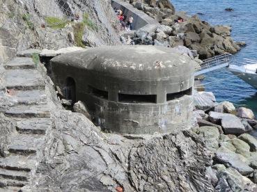 Monterosso: The WW2 German Pill Box.