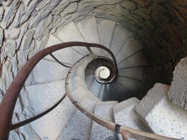 Vernazza: In the castle.