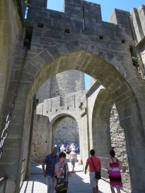 Carsassonne: Through the Narbonne Gate.