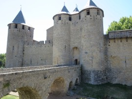 Carsassonne: The Chateau.