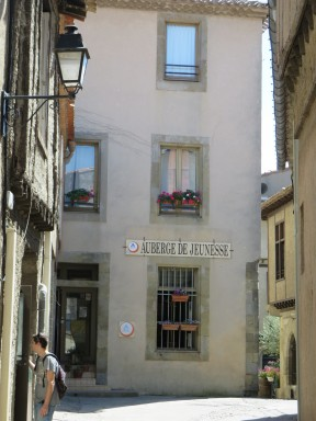 Carsassonne: Our hostel.
