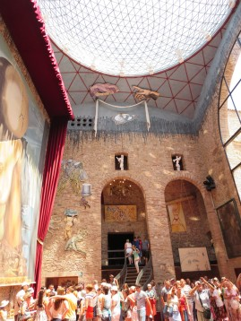 Figueres: The Dali Museum.