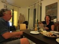 Llanca. Discussing the Catalunyan Independence Referendum.