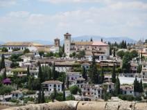 Granada: View from La Alhambra.
