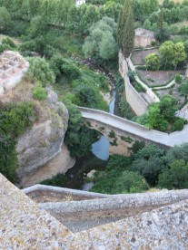 Ronda: El Tajo, the gorge.