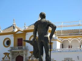 Seville: The Plaza de toros de la Real Maestranza de Caballería de Sevilla.