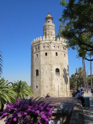 Seville: the Torre del Oro.