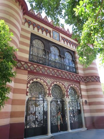 Seville: along the Paseo.