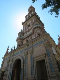 Seville: Plaza d'Espagna.