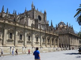 Seville: the Cathedral.