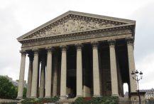 Paris: L'église de la Madeleine.